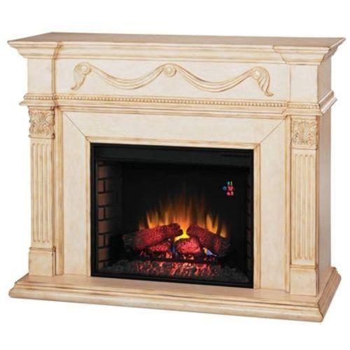 82839528 Kominek elektryczny z obudową Classic Flame Gossamer (kolor: kość słoniowa) - oferta [9528d1a85f1313a8]