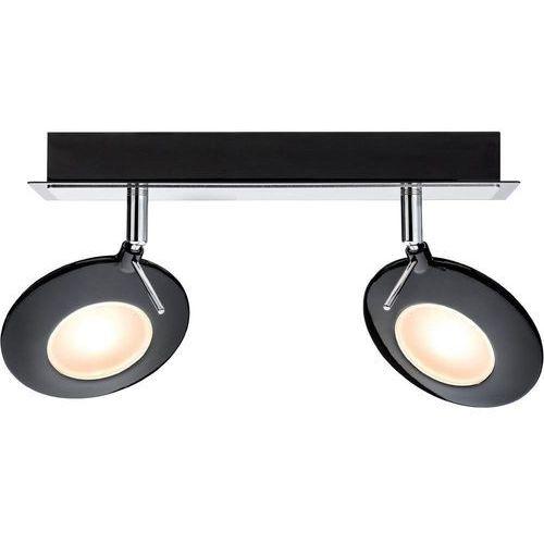 Produkt Lampa ścienna  60248, 226 lm, 2700 K, (DxSxW) 120 x 280 x 195 mm, Czarny, marki Paulmann
