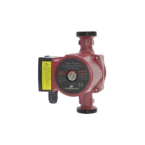 Towar z kategorii: pompy cyrkulacyjne - FERRO WEBERMAN Pompa obiegowa do instalacji grzewczych i solarnych 25-40-180