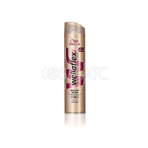 Produkt z kategorii- pozostałe kosmetyki do włosów - Wellaflex Brillant Colour (Lśniący Kolor) Lakier, 250 ml