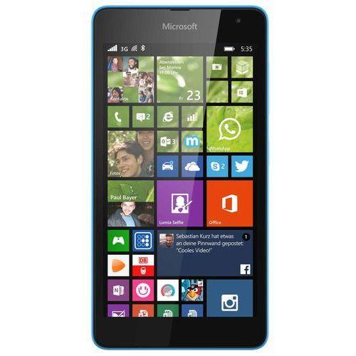 Microsoft Lumia 535 Dual SIM (niebieski) - niebieski - produkt z kategorii- Pozostałe oprogramowanie