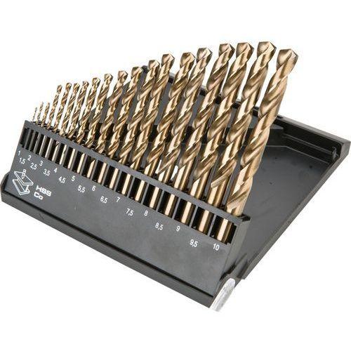 Zestaw wierteł do metalu GRAPHITE 57H089 HSS-Co 1.0-10.0 mm (19 elementów) + DARMOWA DOSTAWA!, kup u jednego z partnerów