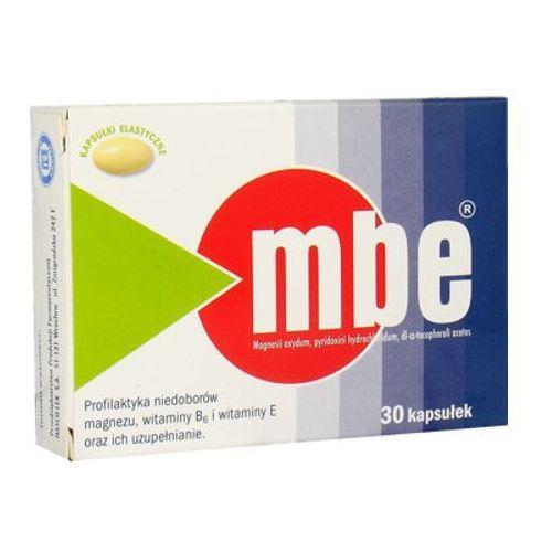 [kapsułki] MBE kaps.miękkie 0,15g Mg2+7,29mg+0,2g 30 kaps. (blist.)