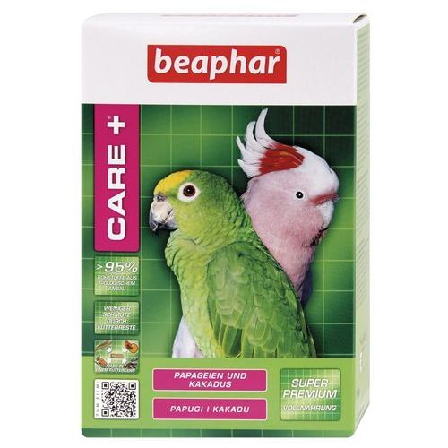 CARE+PARROT & COCKATOO 1KG- karma dla papug i kakadu, Beaphar