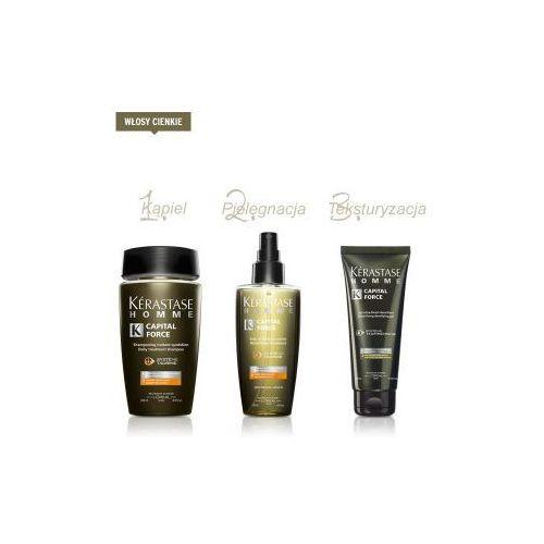 Produkt z kategorii- pozostałe kosmetyki do włosów - Zestaw Kerastase dla panów do włosów cienkich.