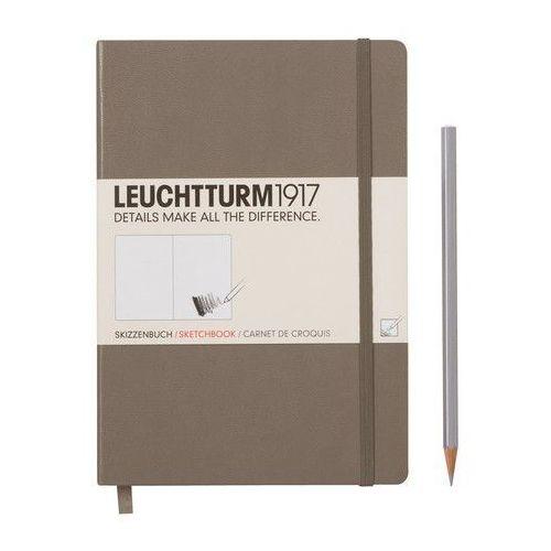Szkicownik Medium Leuchtturm1917 gładki szarobrązowy 344665 - oferta [3526e00771e28524]