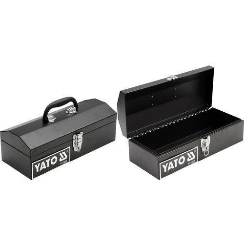 Towar Skrzynka narzędziowa metalowa 360x150x115 mm YT-0882 z kategorii skrzynki i walizki narzędziowe