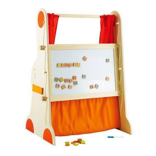 Oferta Teatrzyk drewniany, tablica dla dzieci, stolik dla dzieci, 3w1, Sevi (pacynka, kukiełka)