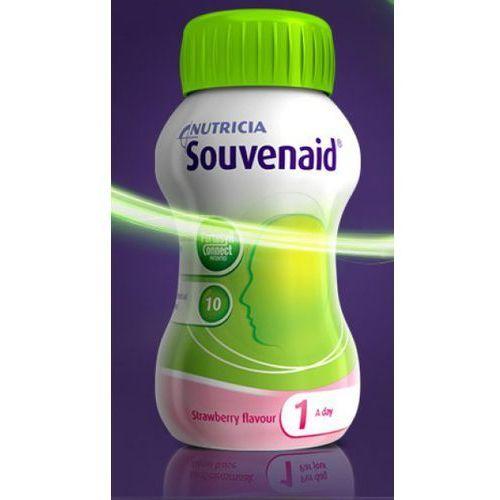 [płyn] Souvenaid o smaku truskawkowy płyn 4 butelki 125ml