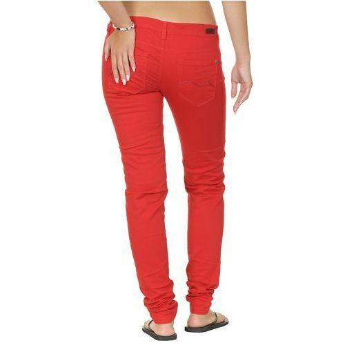 jeansy Roxy Kassia Flat - Lipstick Red - produkt z kategorii- spodnie męskie