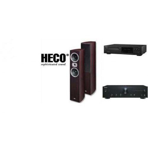 ONKYO A-9010 + C-N7050 + HECO VICTA 502 - wieża, zestaw hifi - zmontuj tanio swój zestaw na stronie