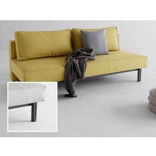 Sofa Sly musztardowa 554 nogi czarny mat  543071CN554554-02-543070-2, INNOVATION iStyle
