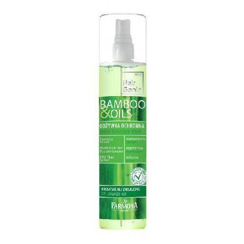 Farmona Hair Genic Bamboo & Oils Odżywka ochronna do włosów spray 200ml - produkt z kategorii- odżywki do włosów