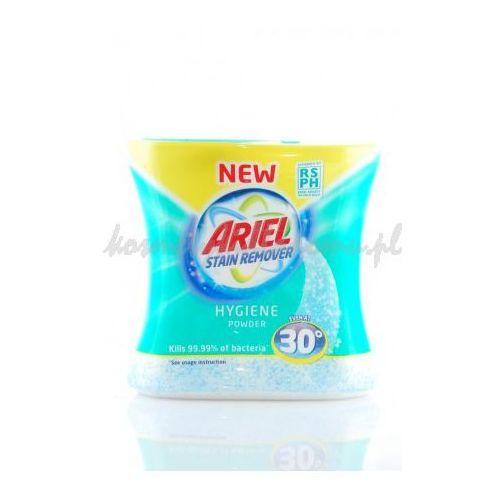 ARIEL STAIN REMOVER HYGIENE 470G - Ariel Hygiene odplamiacz w proszku, bakteriobójczy (wybielacz i odplamiacz