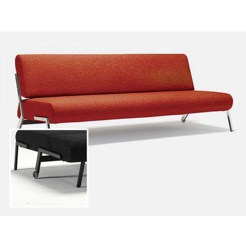 Sofa Debonair pomarańczowa 524 nogi czarny mat  724030524-724030-2, INNOVATION iStyle