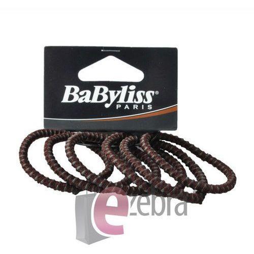 Produkt z kategorii- pozostałe kosmetyki do włosów - BABYLISS ZESTAW GUMEK DO WŁOSÓW BRĄZOWE D31473E - BRĄZOWE D31473E