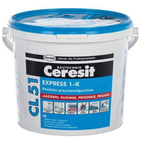 Przepona CL 51 CERESIT (izolacja i ocieplenie)