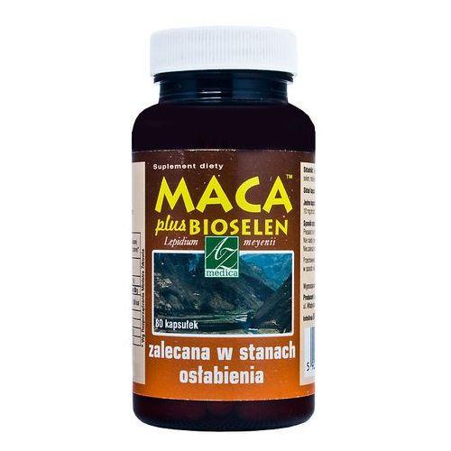 Maca plus Bioselen x 80, postać leku: kapsułki