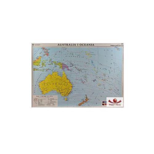 Australia. Mapa ścienna polityczna / konturowa, produkt marki Nowa Era