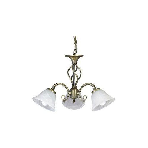 Artykuł ŻYRANDOL klasyczna OPRAWA wisząca LAMPA BECKWORTH Rabalux 7133 IP20 patyna biały z kategorii lampy wiszące