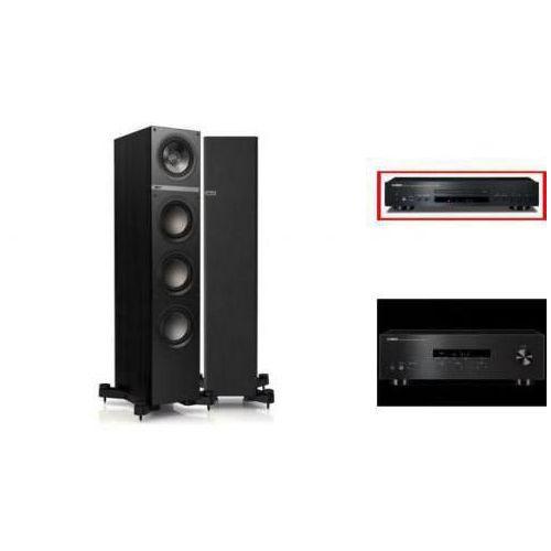 YAMAHA R-S201 + CD-S300 + KEF Q500 czarne - wieża, zestaw hifi - zmontuj tanio swój zestaw na stronie