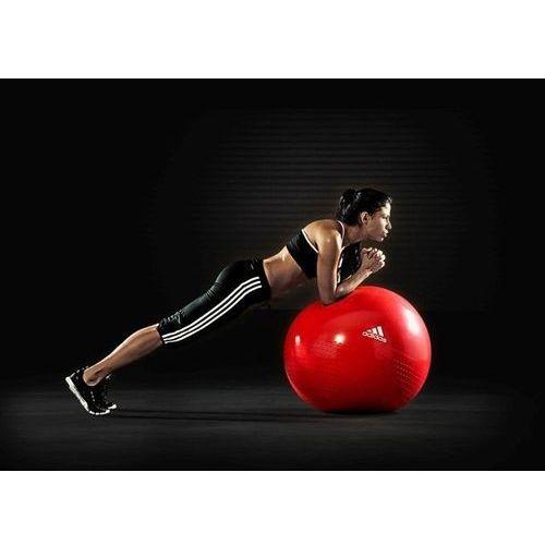 Produkt Piłka gimnastyczna  65CM RED ADBL-12246, marki Adidas