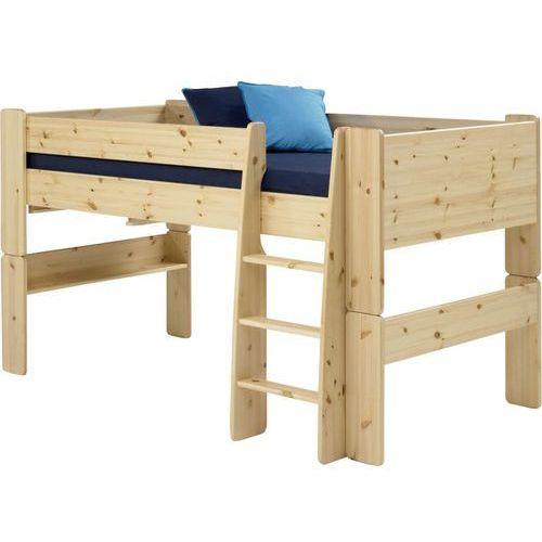 Łóżko piętrowe niskie Steens for kids - sosna lakierowana ze sklepu Meble Pumo