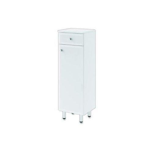 Półsłupek łazienkowy DALLAS biały 0411-530101 Aquaform - produkt z kategorii- regały łazienkowe