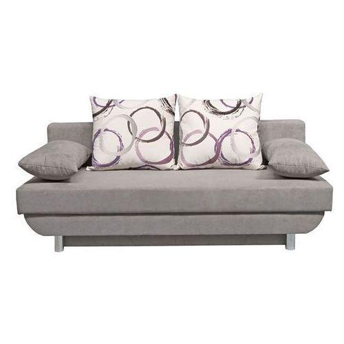 Sofa rozkładana Barcelona - szary, Meble tapicerowane