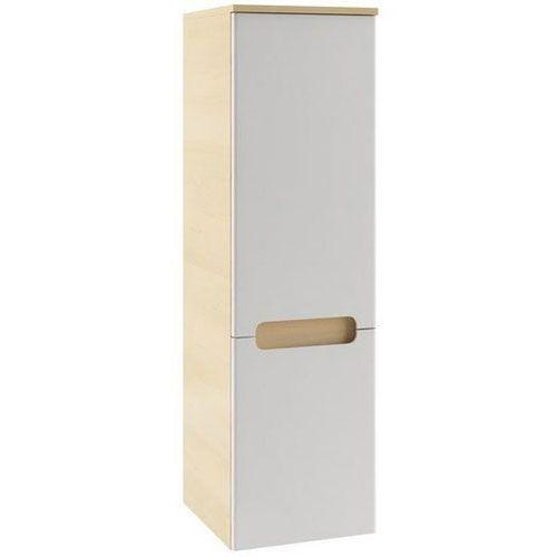 Produkt z kategorii- regały łazienkowe - CLASSIC - Słupek boczny SB-350, biały/brzoza, P