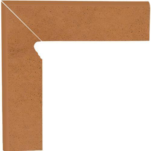 Oferta Cokół schodowy dwuelementowy Aquarius Brown 8,1x30 lewy (glazura i terakota)