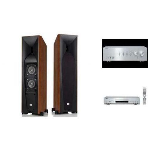 YAMAHA A-S501 + CD-S300 + JBL STUDIO 580 S HIFI - wieża, zestaw hifi - zmontuj tanio swój zestaw na stronie