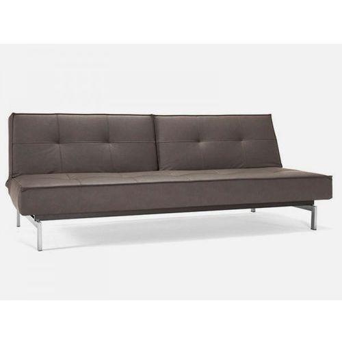 Sofa Splitback brązowa 592 nogi stalowe  741010592-741010-8-2, INNOVATION iStyle