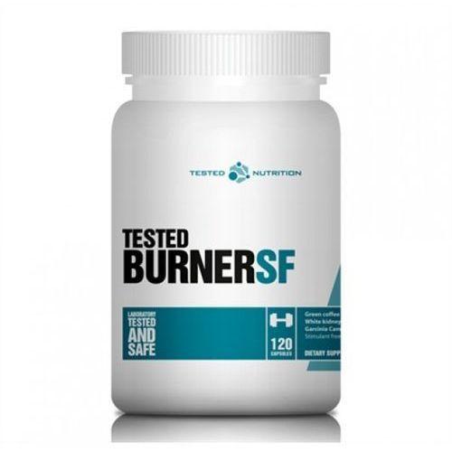Tested burner sf 120 kaps. - promocja wyprodukowany przez Supplement facts