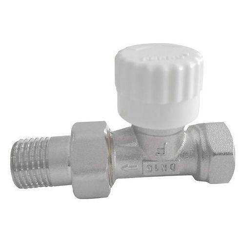 Zawór termostatyczny prosty 1/2'' z nastawą wstępną