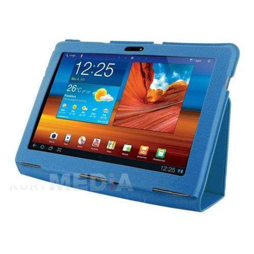 Etui do tabletu 4World z nóżką dla Galaxy Tab 10.1, SLIM, niebieskie 8202 Natychmiastowa wysyłka! Darmowy odbiór w 15 miastach!, kup u jednego z partnerów