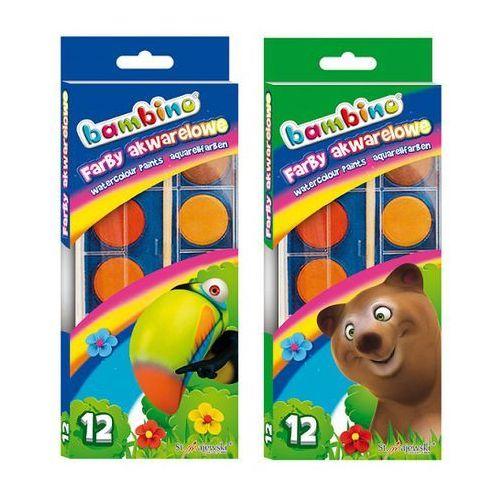 Oferta Farby akwarelowe Bambino 12 kolorów [3536dc4e735f92a6]