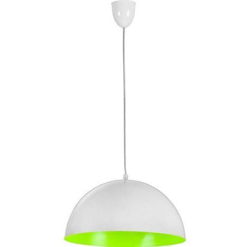 Lampa wisząca Hemisphere White-Green fluo S by Nowodvorski z kategorii oświetlenie