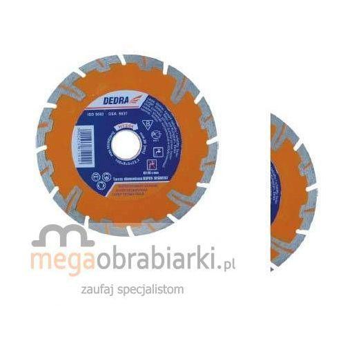 DEDRA Tarcza Super Segment, wieniec (T) 180 mm H1245 RATY 0,5% NA CAŁY ASORTYMENT DZWOŃ 77 415 31 82 ze sklepu Megaobrabiarki - zaufaj specjalistom