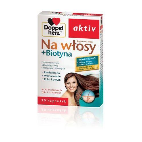 DOPPELHERZ AKTIV Na włosy + Biotyna 30 kaps., postać leku: kapsułki