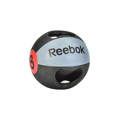 Piłka lekarska 8 kg (z uchwytem) RSB-10128, produkt marki Reebok