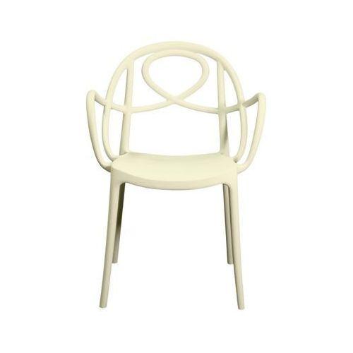 Krzesło ogrodowe Green Etoile P białe ze sklepu All4home
