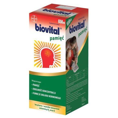 Biovital Pamięć płyn 650 ml, postać leku: płyn