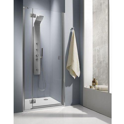 Essenza DWJ Radaway 100 lewe drzwi wnękowe brązowe - 32722-01-08NL (drzwi prysznicowe)