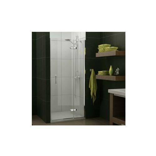 SANSWISS PUR LIGHT drzwi jednoczęściowe ze ścianką stałą w linii PL (drzwi prysznicowe)