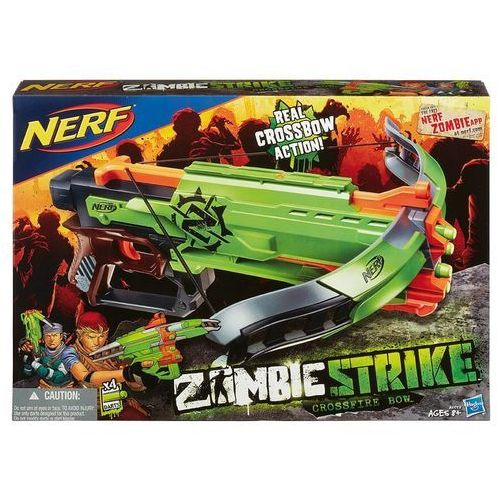Kusza HASBRO Nerf Zombie Strike Crossfire Bow A6558 + DARMOWA DOSTAWA oferta ze sklepu ELECTRO.pl