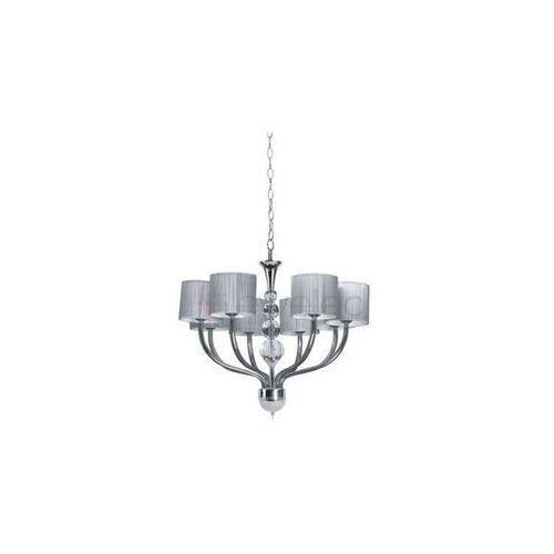 Artykuł GENEWA żyrandol 8 x 40W E14 CHROM / SREBRNY z kategorii lampy wiszące