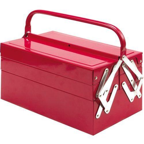Towar Skrzynka narzędziowa 405 mm, metalowa, 5 elementów. 81843 z kategorii skrzynki i walizki narzędziowe