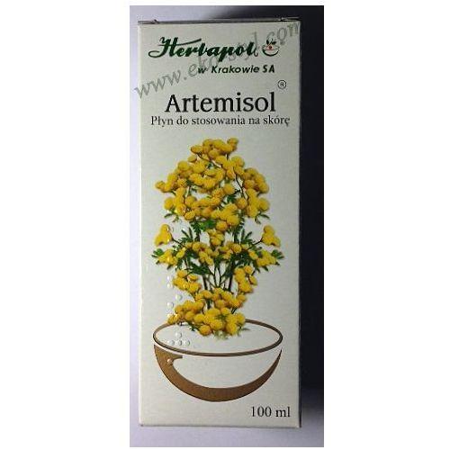 Artemisol, płyn, do stosowania na skórę, 100 ml, Herbapol Kraków - szczegóły w Eko-Styl  - sklep zielarsko-medyczny