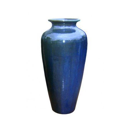 Produkt Donica ceramiczna szkliwiona -  - KIM niebieska, marki Miloo